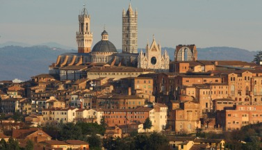 Vakantie in Toscane, siena